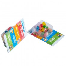Small Biz Card Treats with Jelly Beans 14g