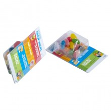 Small Biz Card Treats with JELLY BELLY Jelly Beans 14g