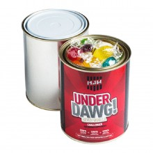 PAINT TIN FILLED WITH Boilded Lollies 550g