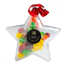 ACRYLIC STARS FILLED WITH SKITTLES 50G