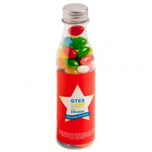 JELLY BEANS IN SODA BOTTLE 100G (Corp Coloured or Mixed Coloured Jelly Beans)