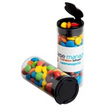 Flip Lid Tube filled with M&Ms 35G