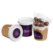 Coffee Cup Filled Choc Coated Coffee Beans 50G
