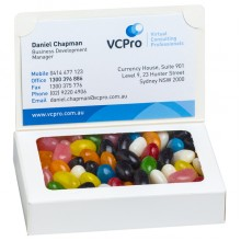 Bizcard box with Jelly Beans 50g