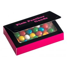 Full Colour Printed Bizcard Box with Chewy Fruit 50g