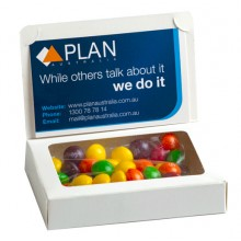 Bizcard Box with 50g SKITTLES
