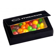 Full Colour Printed Bizcard Box with Skittles 50g