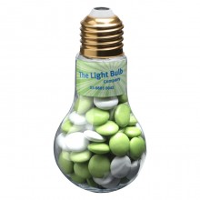 Light Bulb with Choc Beans 100g