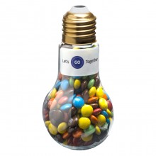Light Bulb with M&Ms 100g