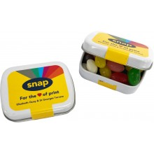 Small Rectangle Tin filled with Jelly Beans *Plastic Free*