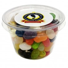 Tub filled with JELLY BELLY Jelly Beans 100g