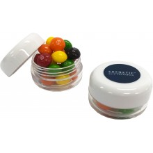Small Screw Cap Jar with Skittles
