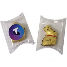 Pillow Pack with Gold Lindt Bunny