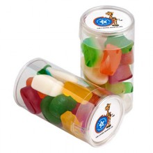 PET TUBE FILLED WITH MIXED LOLLIES 95G