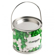 MEDIUM PVC BUCKET FILLED WITH CHEWY FRUITS (SKITTLE LOOK ALIKE) 400G