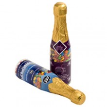 CHAMPAGNE BOTTLE FILLED WITH MINI M&M 220G
