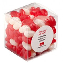 JELLY BEANS IN CUBE 110G (Corp Coloured or Mixed Coloured Jelly Beans)