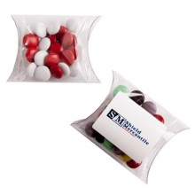 CHOC BEANS IN PVC PILLOW PACK 25G