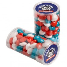 PET TUBE FILLED WITH CHEWY FRUITS (SKITTLE LOOK ALIKE) 100G
