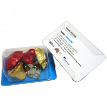 Biz Card Treats with Christmas Chocolates 45g