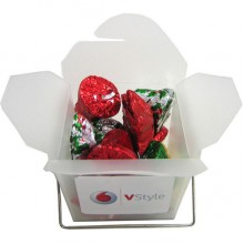 Frosted Noodle Box with Christmas Chocolates 85g