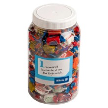 2L PET JAR filled with Allen's Lollies