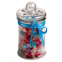 2L GLASS JAR filled with Boiled Lollies
