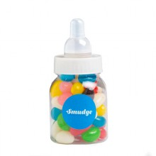 Baby Bottle Filled with Jelly Beans (Mixed or Corp Colours) 50G