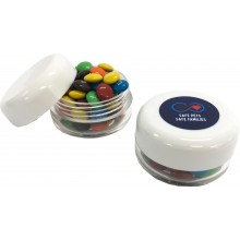 Small Screw Cap Jar with M&Ms